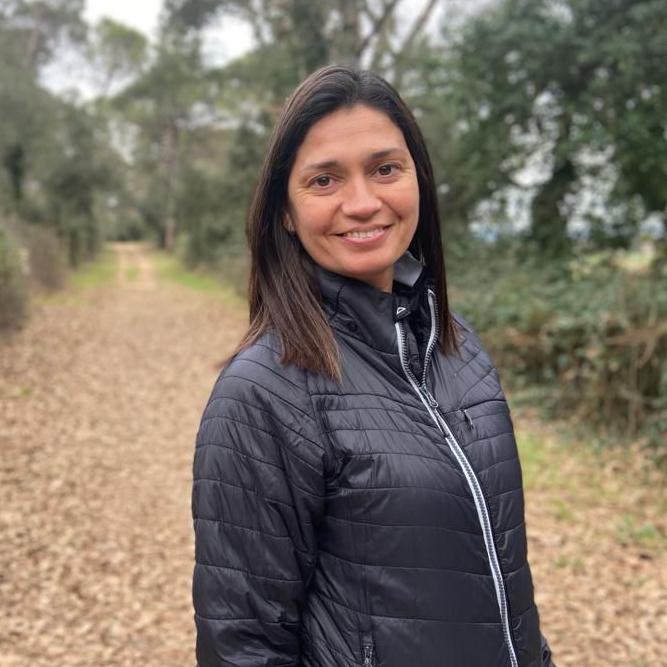 Eva Masmiquel, mestra de l'escola El bosc de la Pabordia de Girona