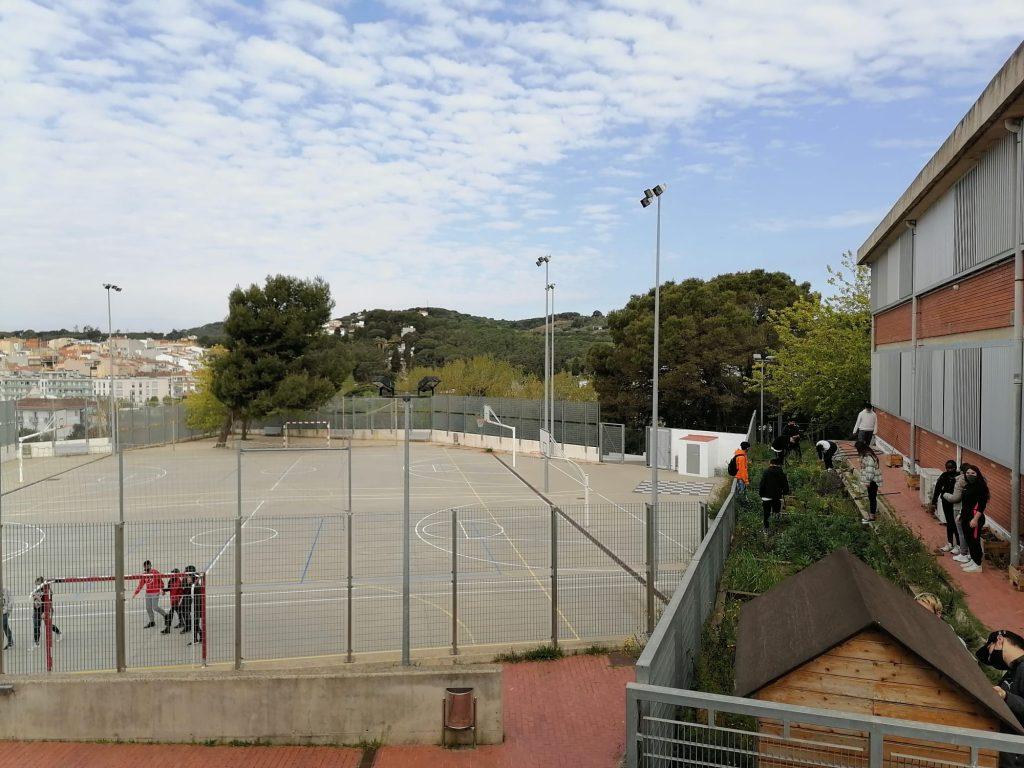 Imatge exterior de l'institut Serrallarga de Blanes