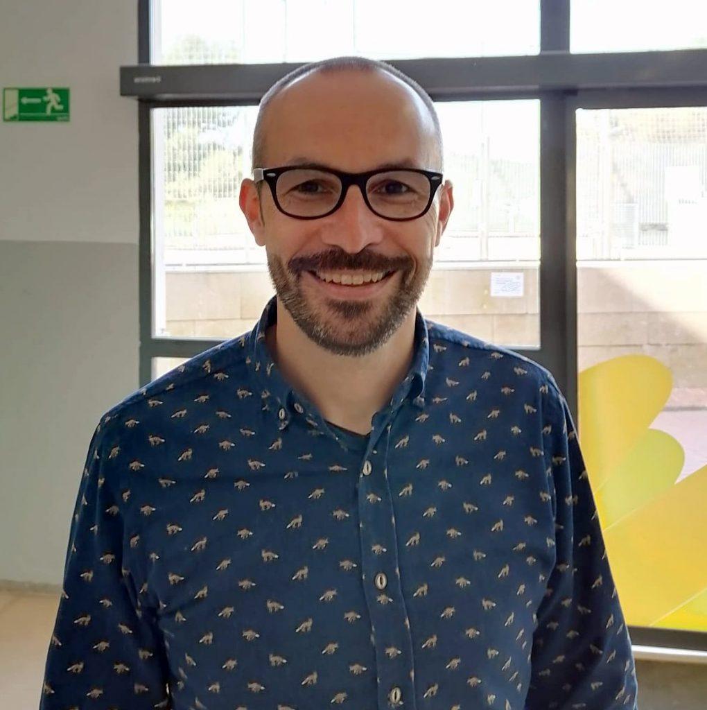 Rubén Fernández, director de l'institut Serrallarga de Blanes